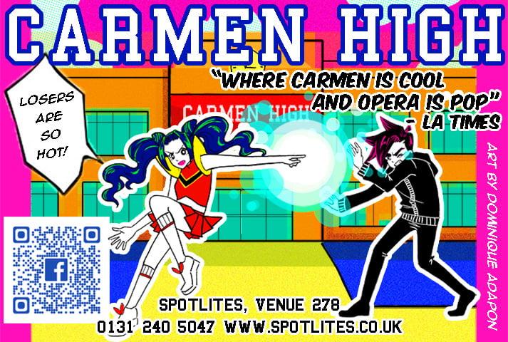 Carmen High Poster