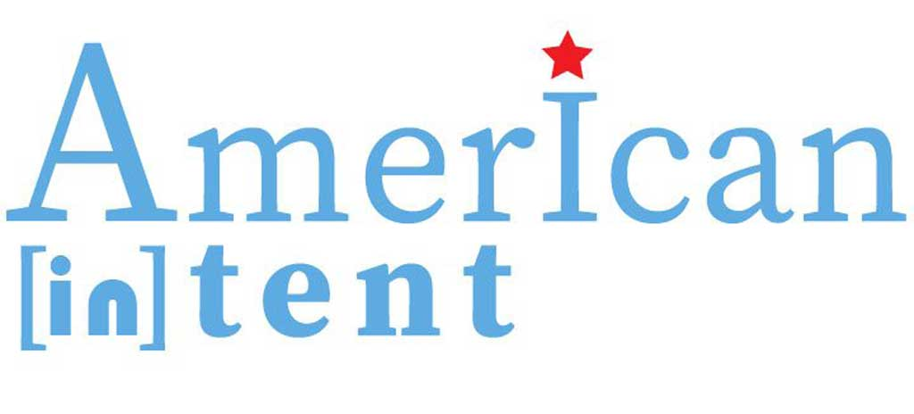 American [in] Tent